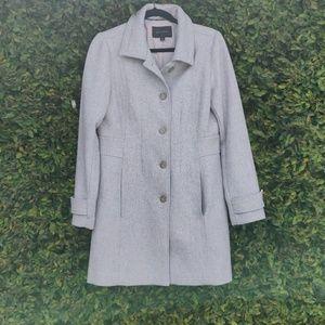 Banana Republic grey coat